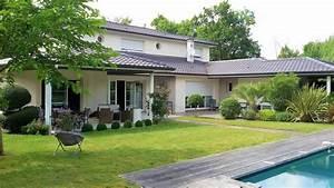 belle maison avec piscine et jardin With plan de bassin de jardin 5 centre commercial