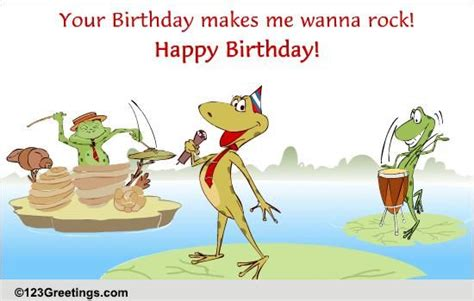 crazy singing frogs  songs ecards greeting cards
