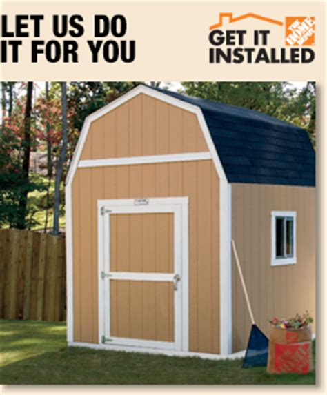 home depot storage sheds installed plastic sheds delivered and installed build shed from plans