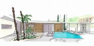 Dessin De Piscine : m lodie viennot architecte ~ Melissatoandfro.com Idées de Décoration