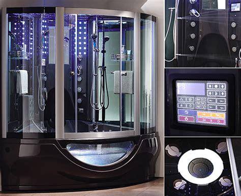 aquapeutics luxury steam shower  waterproof tv radio