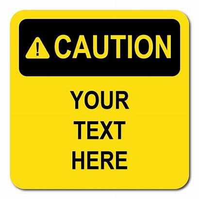 Caution Signs Sign Clipart Warning Printable Clip