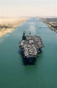 Suez Canal Aircraft Carrier