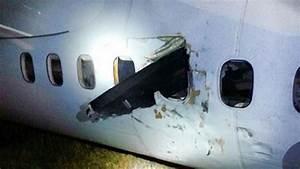Freak Plane Propeller Accident Misses Passenger U0026 39 S Head By Inches