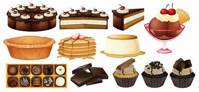 Desserts Types Different Illustration Clipart Vector Vecteezy
