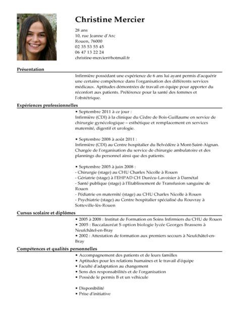 Comment Faire Un Cv Gratuit by Comment Faire Un Cv De Service Hospitalier
