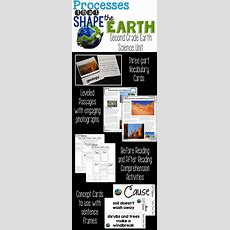 Processes That Shape The Earth Is A Second Grade Science Unit That Addresses All The Next