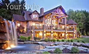 Luxury Log Home Designs by Luxury Log House Plans House Of Samples
