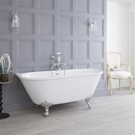 Tub Back by Acrylic Back To Wall Freestanding Bath Tub 60 Quot