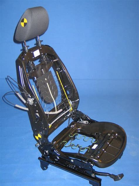 cambiare tappezzeria auto meccanismo di un sedile d auto