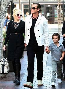 Gavin Rossdale in Gwen Stefani And Gavin Take The Kids To ...