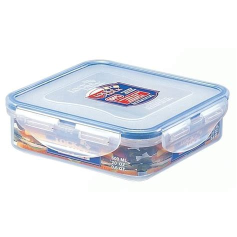 Lock & Lock Square Sandwich Box   870ml