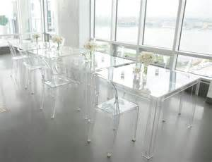 Chaise Transparente Ikea by Victoria Ghost Chairs Invisible Table Kartell Louis