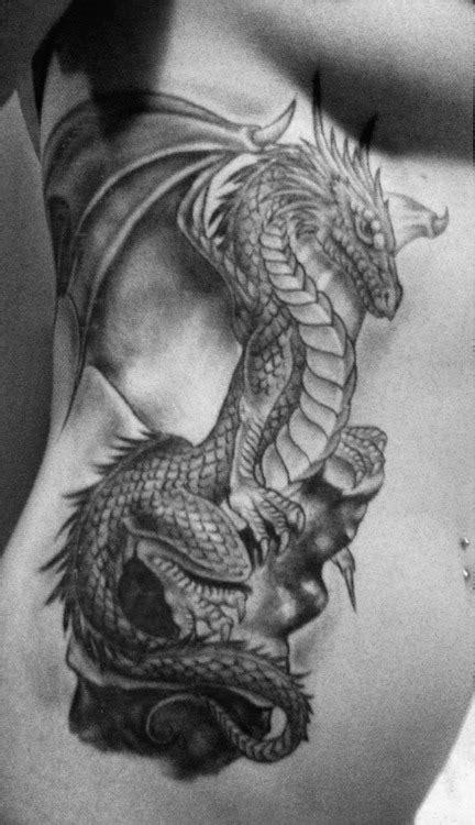 Winged Dragon Tattoo Design » Tattoo Ideas