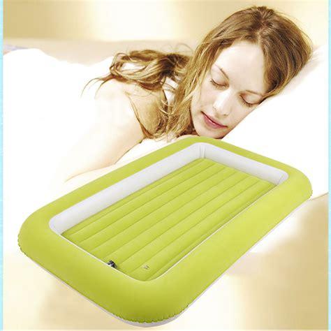 air mattress for toddlers high quality flocked air cing mattress