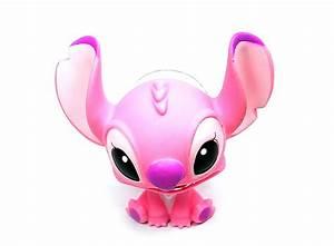 Pink Lovely Stitch Sucker Superior Cute Doll Sucker HK