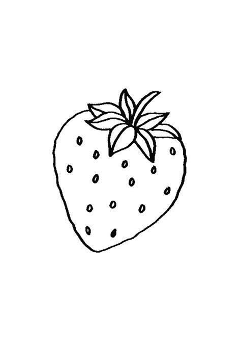 cuisine dessin animé coloriage d une fraise hugolescargot com
