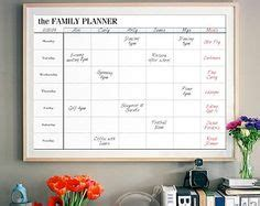 weekly family wall calendar   track