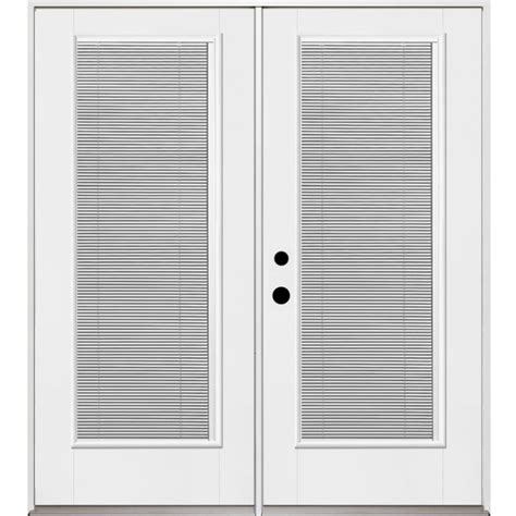 Therma Tru Patio Doors With Blinds by Shop Benchmark By Therma Tru 70 56 In Blinds Between The