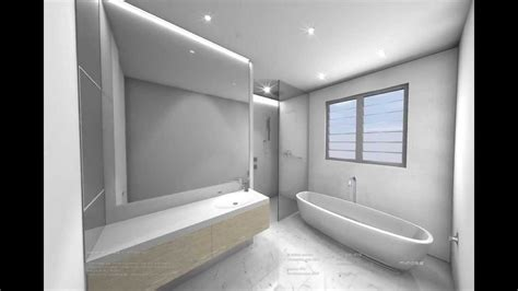 3d Bathroom Designer by White Modern Bathroom Design 3d Cad Animation