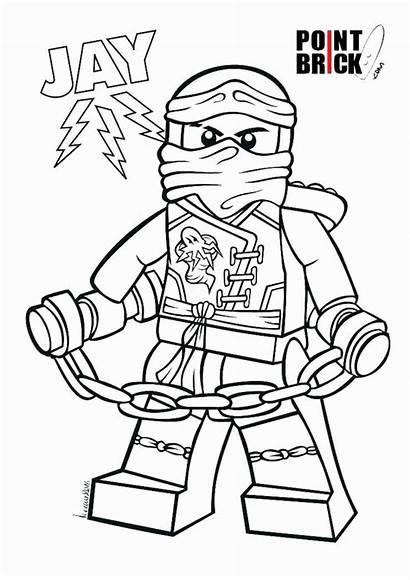 Ninjago Coloring Cole Jay Getcolorings