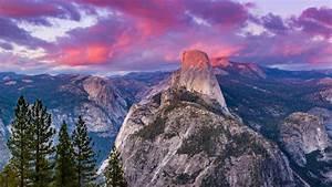 Half, Dome, Granite, Dome, In, California, Yosemite, National, Park, Usa, Best, Hd, Wallpapers, For, Desktop