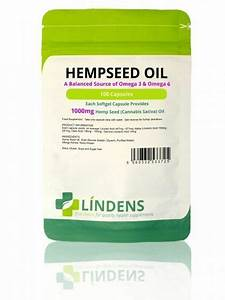 Hemp Seed Oil High Strength 1000mg 100 Capsules Omega 3 6 C Sativa Oil Uk 5060332533725