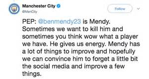 Benjamin Mendy: Man City star defies Pep Guardiola over ...
