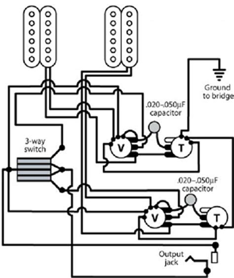 Gibson Paul Electric Guitar Plan Free Diagram Circuit