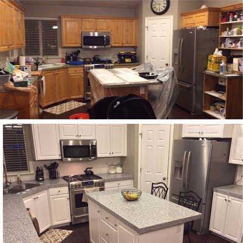 White Diy Kitchen Cabinets by Diy Painting Kitchen Cabinets White