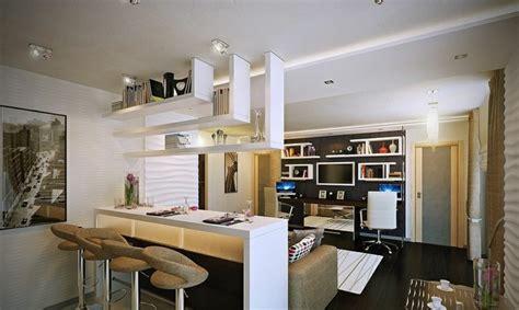 cuisines ouvertes avec bar idée de cuisine ouverte pour un intérieur convivial