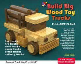 build big toy trucks  table saws wood toy plans