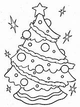 Coloring Tree Christmas Sheets Sheet Pages Clipart Odd Decorated Navidad Decorating Holiday sketch template