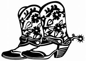 Cowboy boot pictures of cowboy hats and boots clipart ...