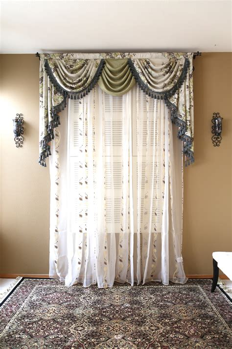 Valance Drapes Curtains by Appalachian Swag Valance Curtains