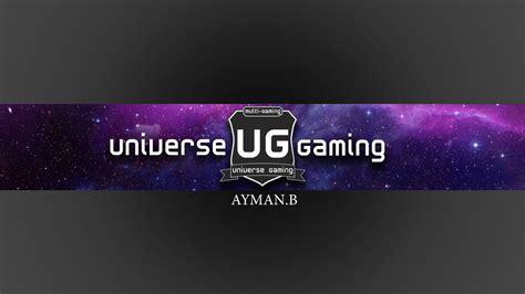 universe gaming youtube banner  ayman   deviantart