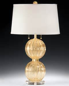 Floor Lamp Clear Glass Shade by Venetian Lamp And Gold Venetian Glass Table Lamp