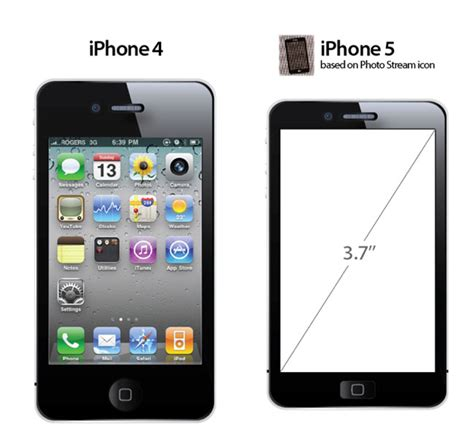found iphone apple iphone 5 design leaked in icon found in photo