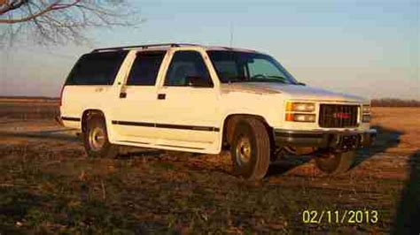 transmission control 1996 chevrolet suburban 2500 auto manual buy used 1994 gmc suburban 2500 6 5 turbo diesel automatic 3rd row seat remote entry in
