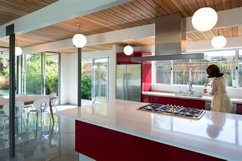 renovating  mid century modern house  stone natural