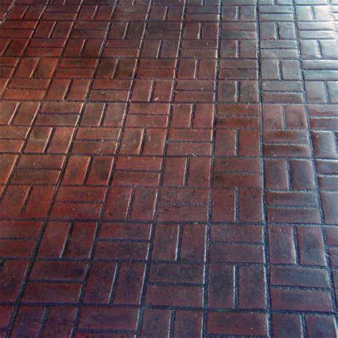 brick weave bricks new brick basket weave concrete texturing com