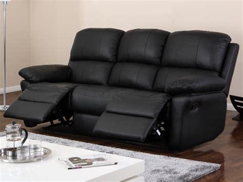 vente flash vente unique canap 233 3 places relax en cuir milagro prix 619 99 euros ventes pas
