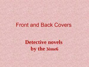Calaméo Detective novel covers