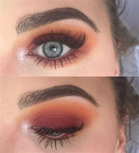 sunset smokey eye step  step  comments ccw