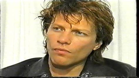 Jon Bon Jovi Interview Youtube