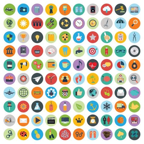 Free Vector Graphic Free Photos Free Icons Free Set Of Web And Technology Development Icons Vector Free