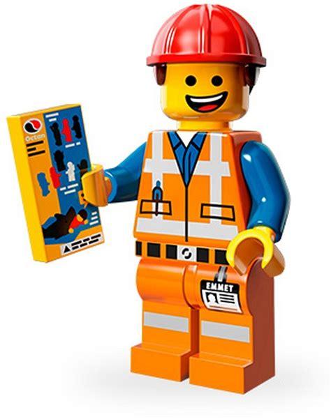 Bricker Конструктор Lego 71004 Emmet Hard Hat Emmet