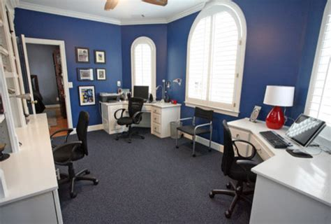 Double Blue Office