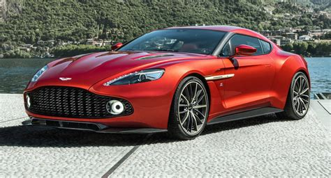 Martin Vanquish Coupe by Aston Martin S New Limited Production Vanquish Zagato Coupe