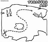 Treasure Map Coloring Printable Pirate Maps Genuine Drawing Template Hunt Getdrawings Regarding Inside Sketch Templates Source Cliparts Library Clipart A4 sketch template